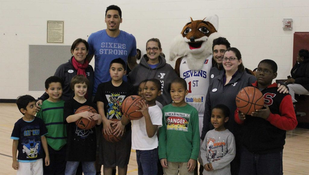 87ers team up with YMCA for reading campaign